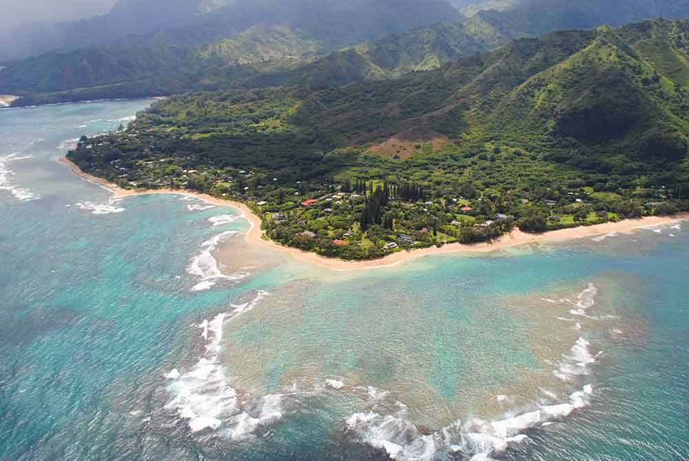 NaPali Coast, Kauai, View from Helicopter