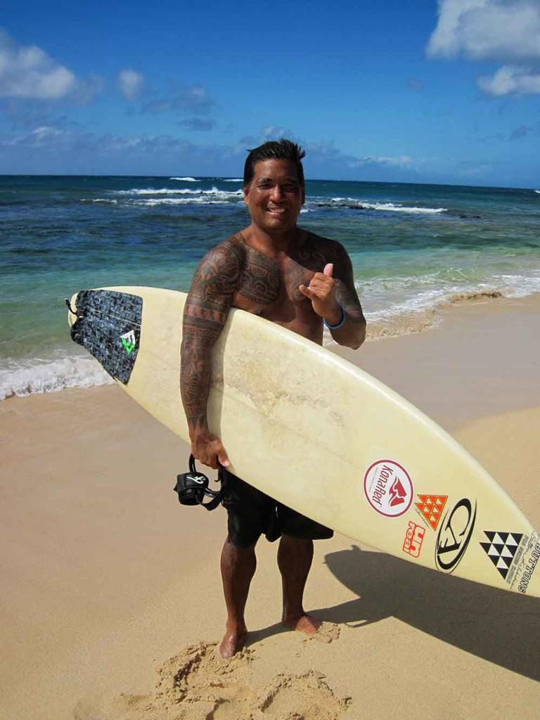 Surfer, Koa Kea Resort, Kauai