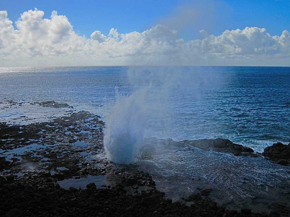Kauai's Spouting Horn blowhole
