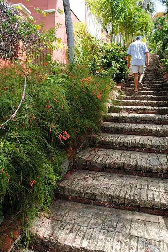 Charlotte Amalie, St. Thomas, 99 Steps