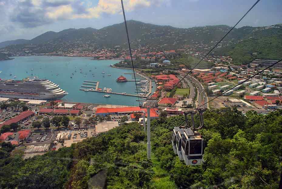 Charlotte Amalie, St. Thomas, Skytrain