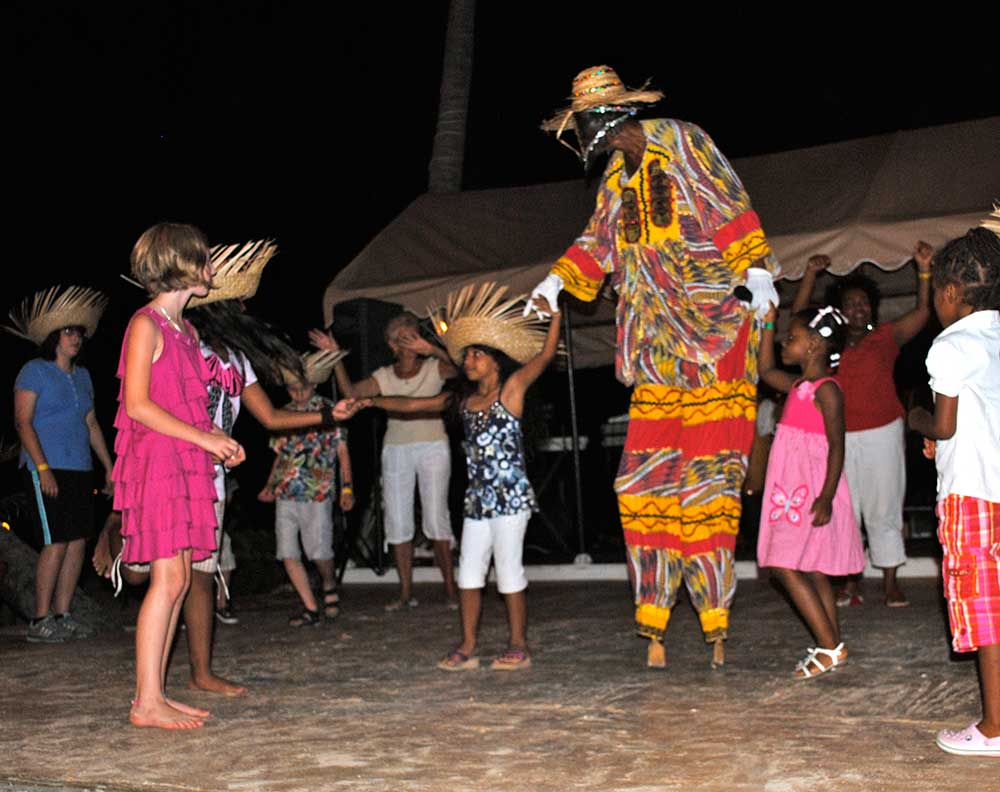 Bolongo Bay Resort, Carnival Night, St. Thomas