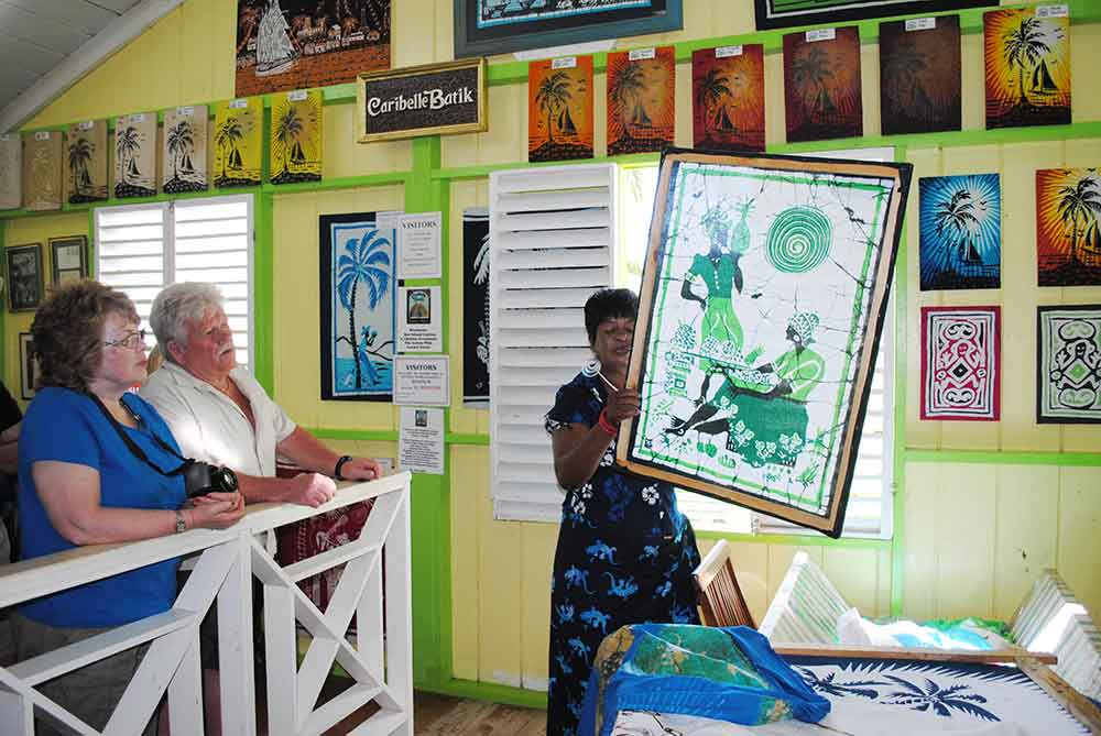 Romney Manor, Caraibelle Batik Factory, St. Kitts