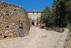 Pigna street, Corsica