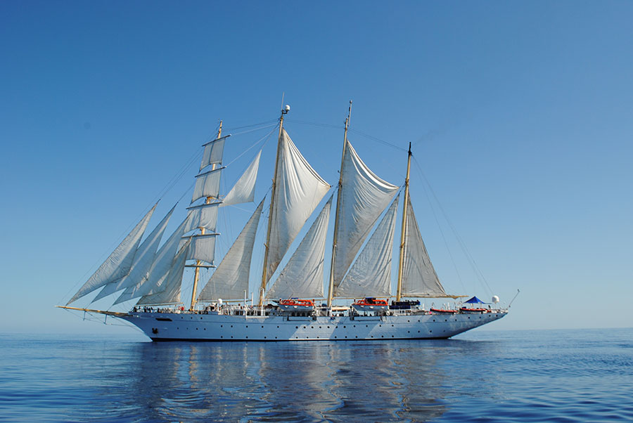 Star Flyer, Mediterranean Sea