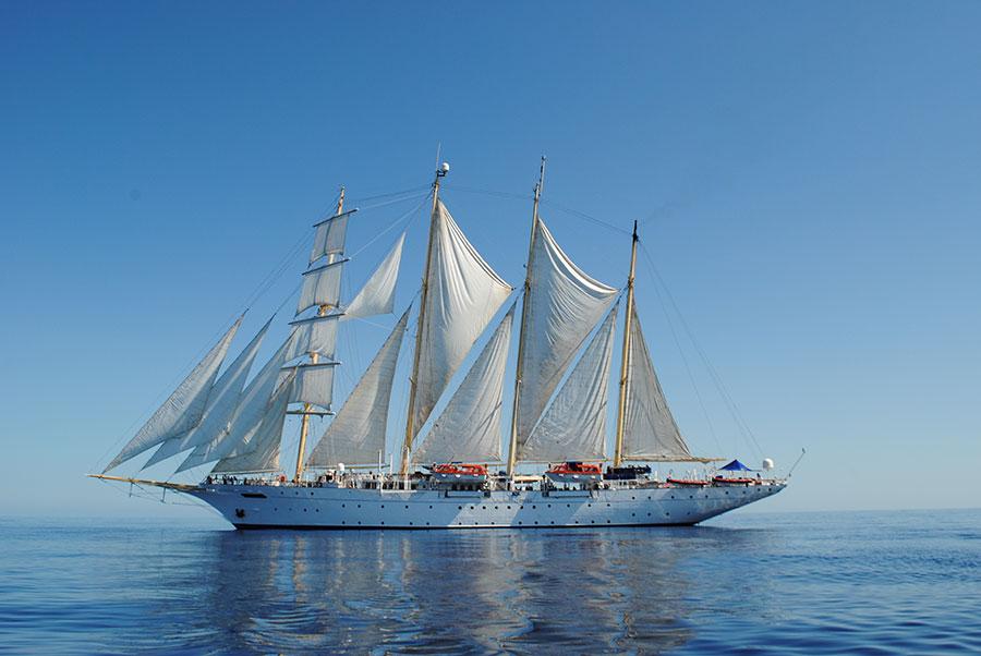 Star Flyer, Mediterranean Sea