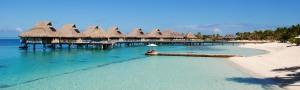 Overwater bungalows, Bora Bora