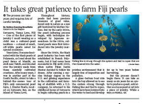 Fiji Pearl Farm Article