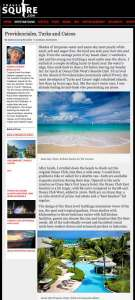 TravelSquire article, Providenciales, Turks & Caicos