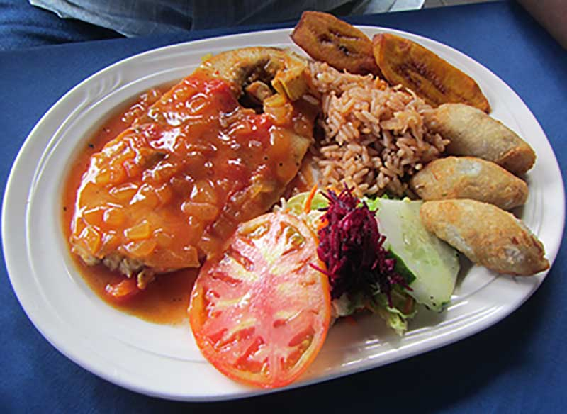 Creole Fish Plate