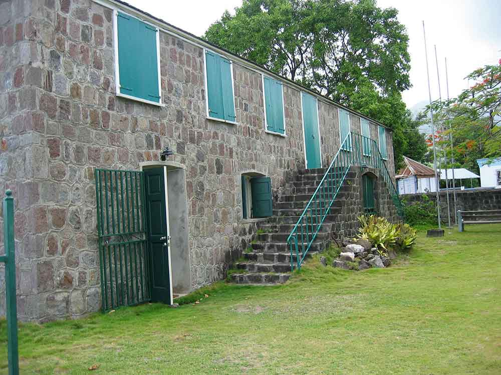 Museum of Nevis History, Birthplace of Alexander Hamilton