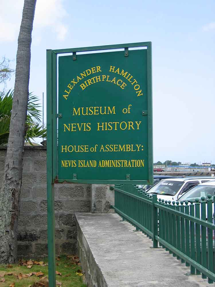 Sign, The Museum of Nevis History