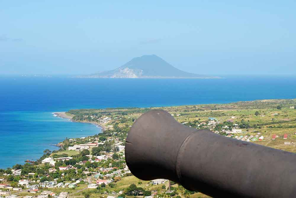 View from Brimstone Hill Fort, St. Kitts
