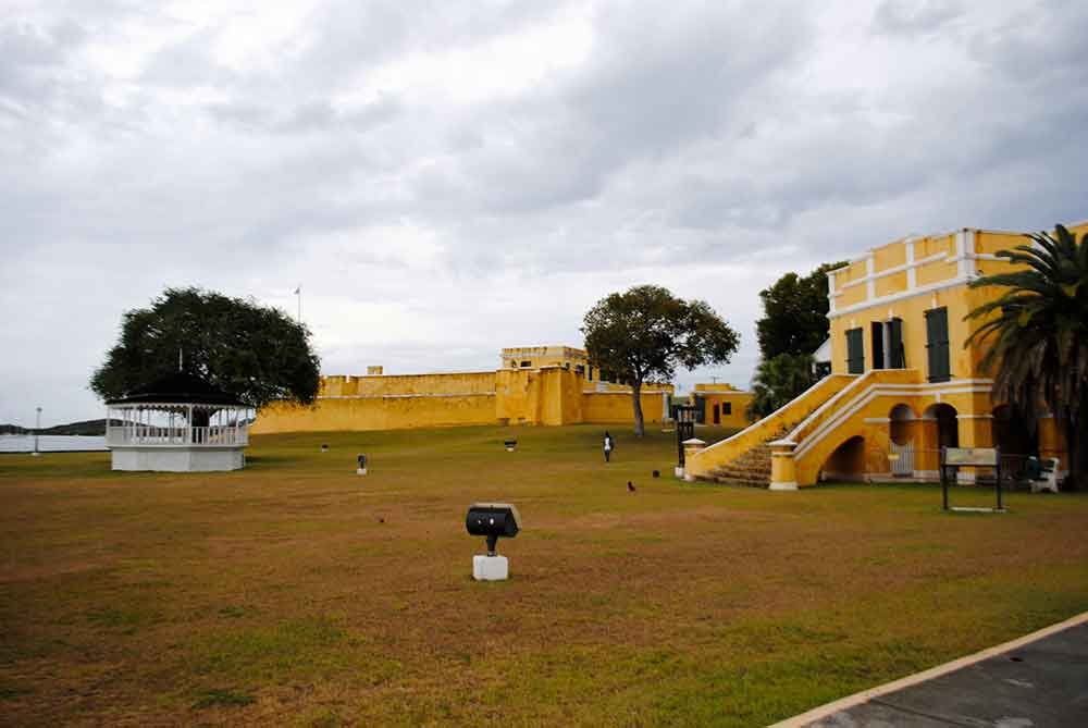 Another view - Fort Christiansvaern, Christiansted, St. Croix, USVI