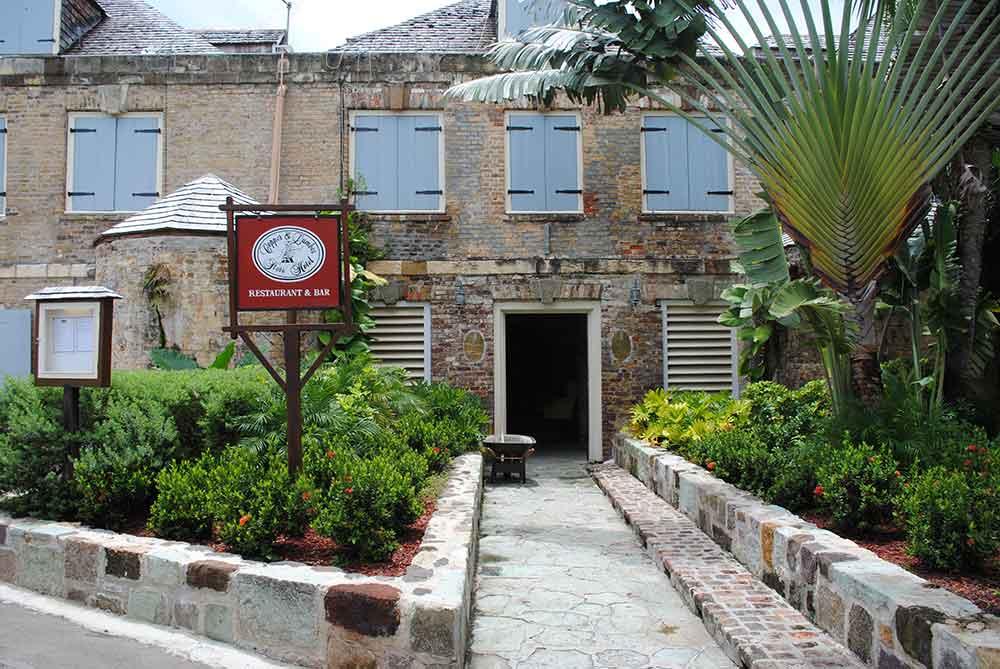 Hotel, Nelson's Dockyard, Antigua (©Debbra Dunning Brouillette)