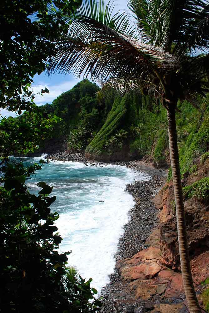 Beach, Kalinago Heritage Village, Dominica