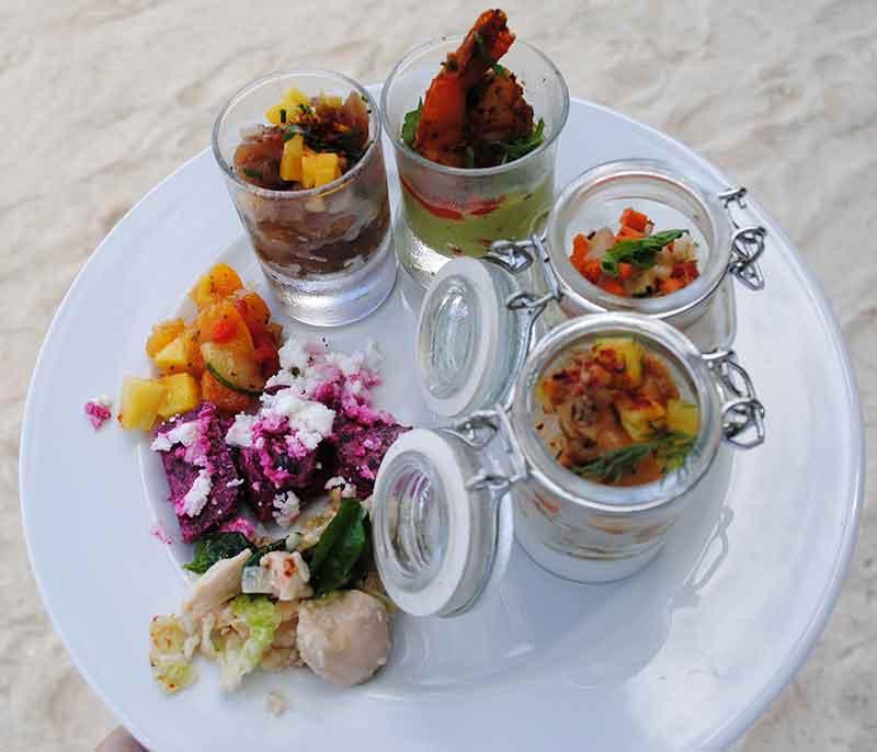 Lunch on Motu Tapu