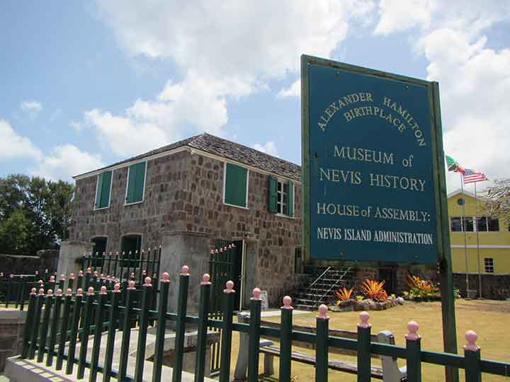 Museum of Nevis History and Alexander Hamilton birthplace