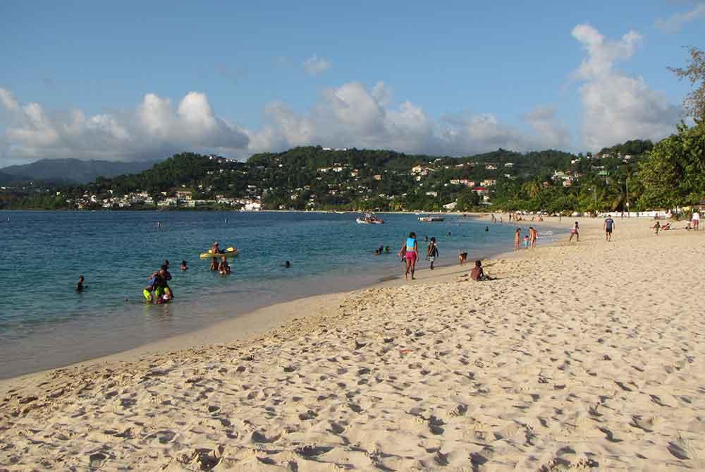 Grand anse beach snorkeling