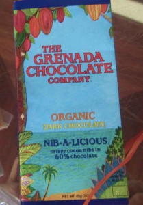 Grenada Chocolate Company Organic chocolate bar