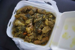 Oildown, Grenada's national dish