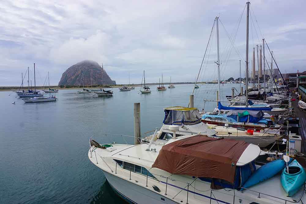 Morro Rock is the focal point of Morro Bay, California. (Photo: Debbra Dunning Brouillette)