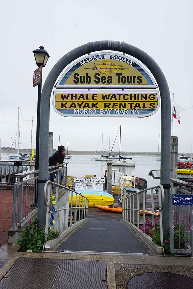 Sub Sea Tours entrance, Morro Bay, California