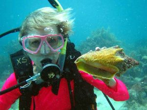 Me with Conch, U/W Music Festival