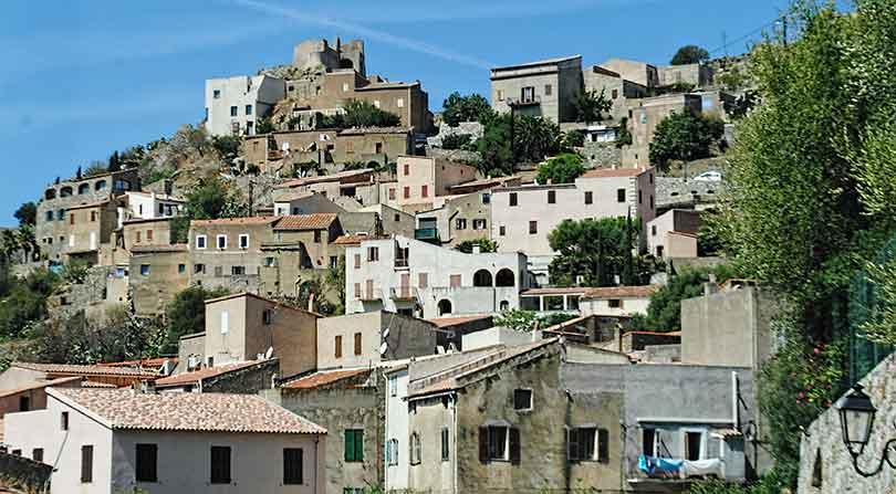 Village near Calvi, Corsica