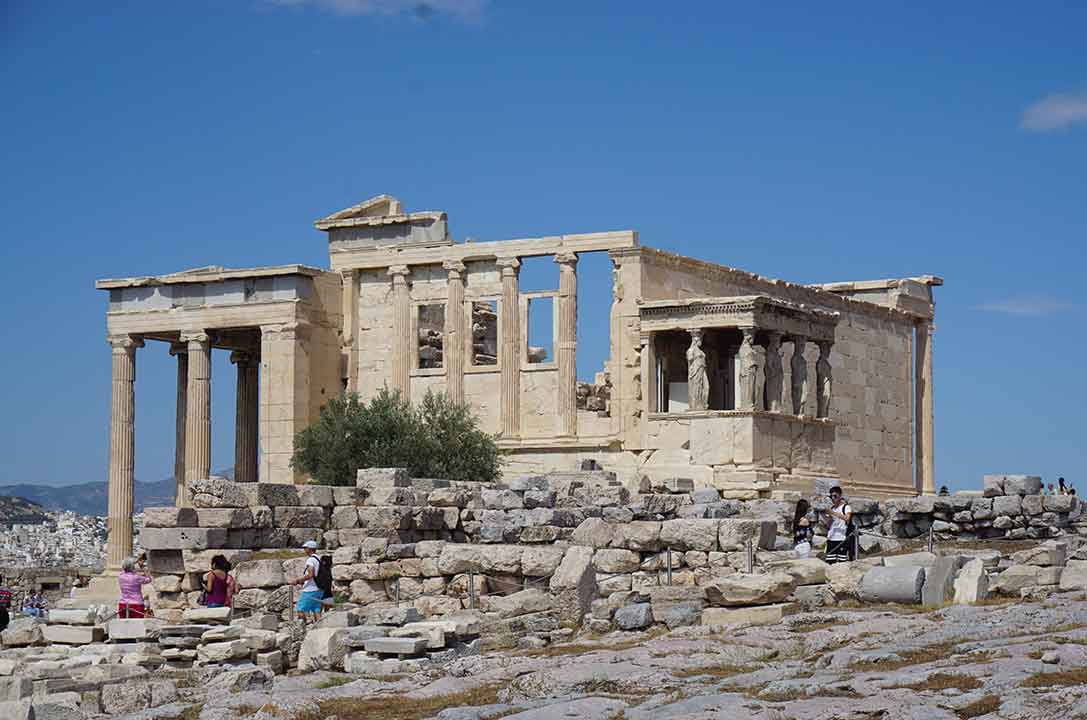 The Erechtheion (Photo: Debbra Dunning Brouillette)