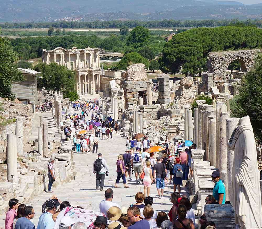 Visit the ancient Greek city of Ephesus, another UNESCO World Heritage Site.