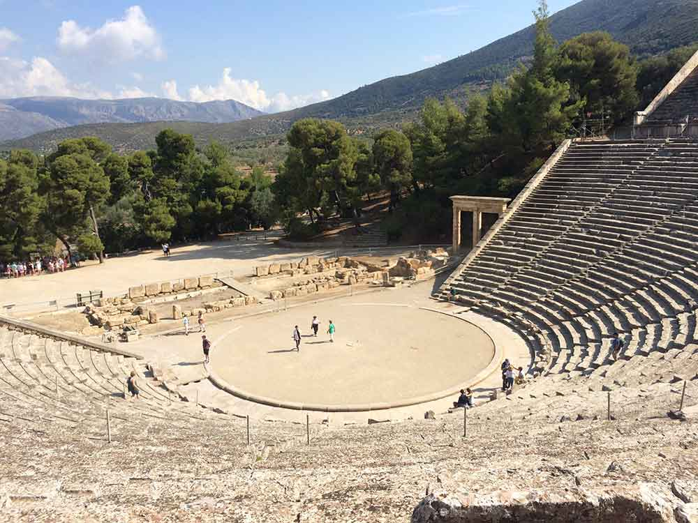 Epidaurus, Greek theatre dating to the 12th century