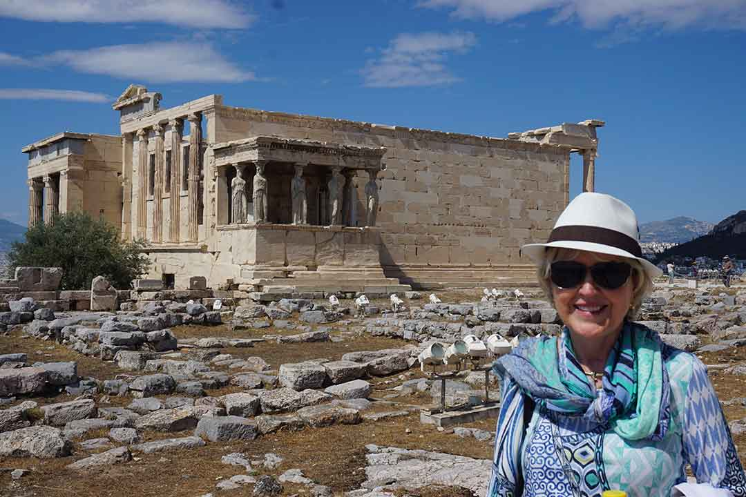 Me at the Erechtheion