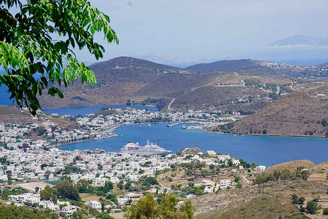 The small island of Patmos is a special port of call not featured on many cruise itineraries.