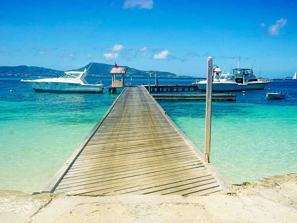 Petit St. Vincent's dock