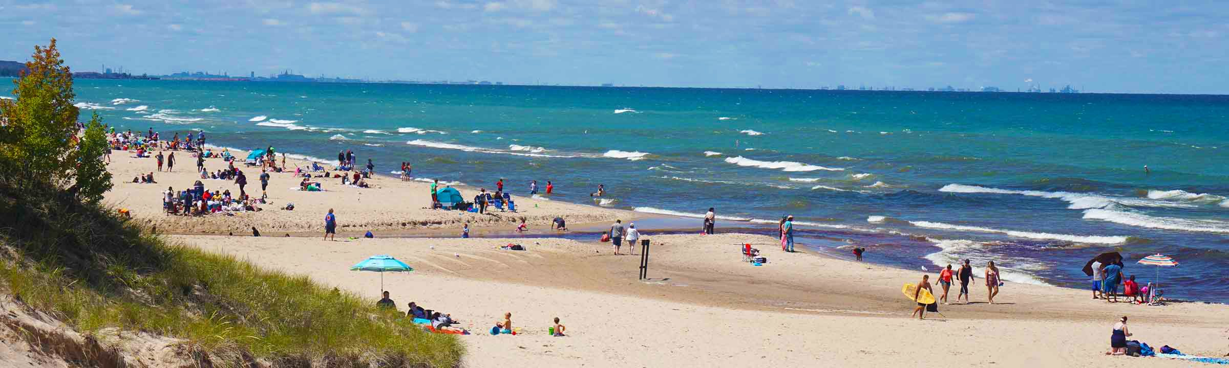 Indiana Dunes Beach Banner Pic