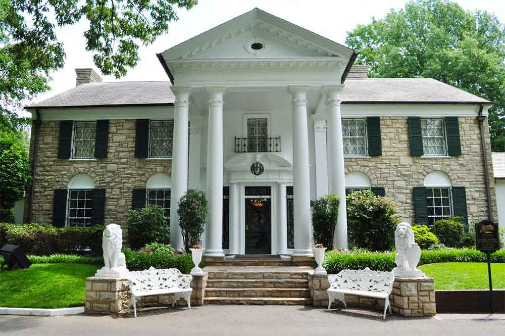 Graceland Mansion has become the second most visited home in America, after the White House.
