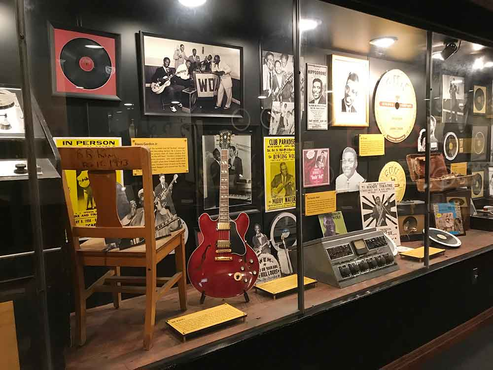 Sun Studio tour -Display Case