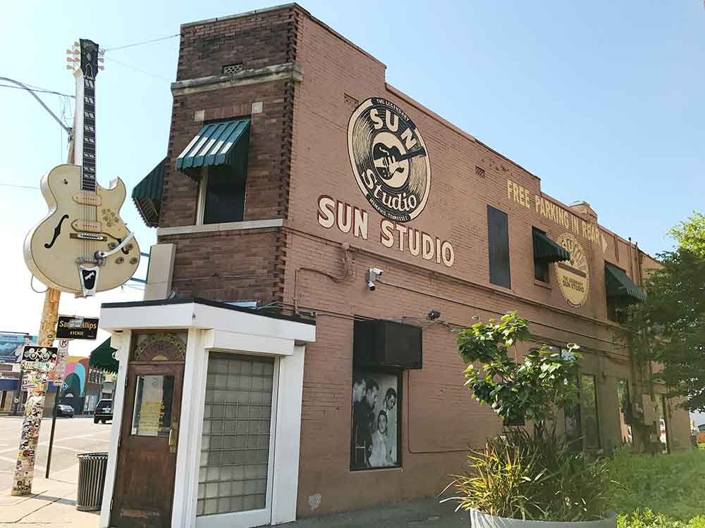 Sun Studio, 106 Union Avenue