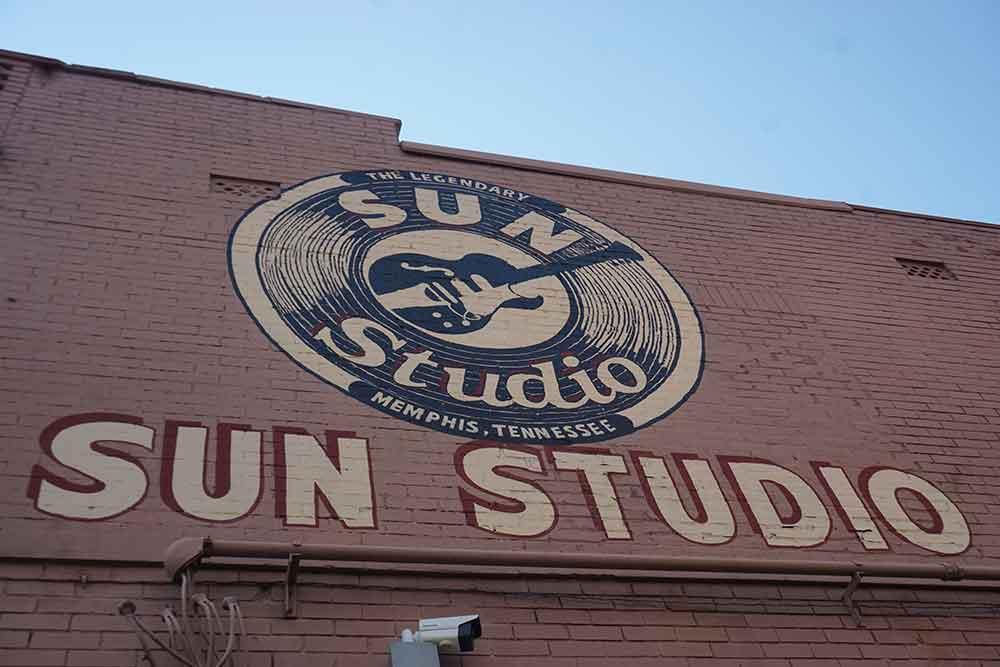 Sun Studio Exterior Wall