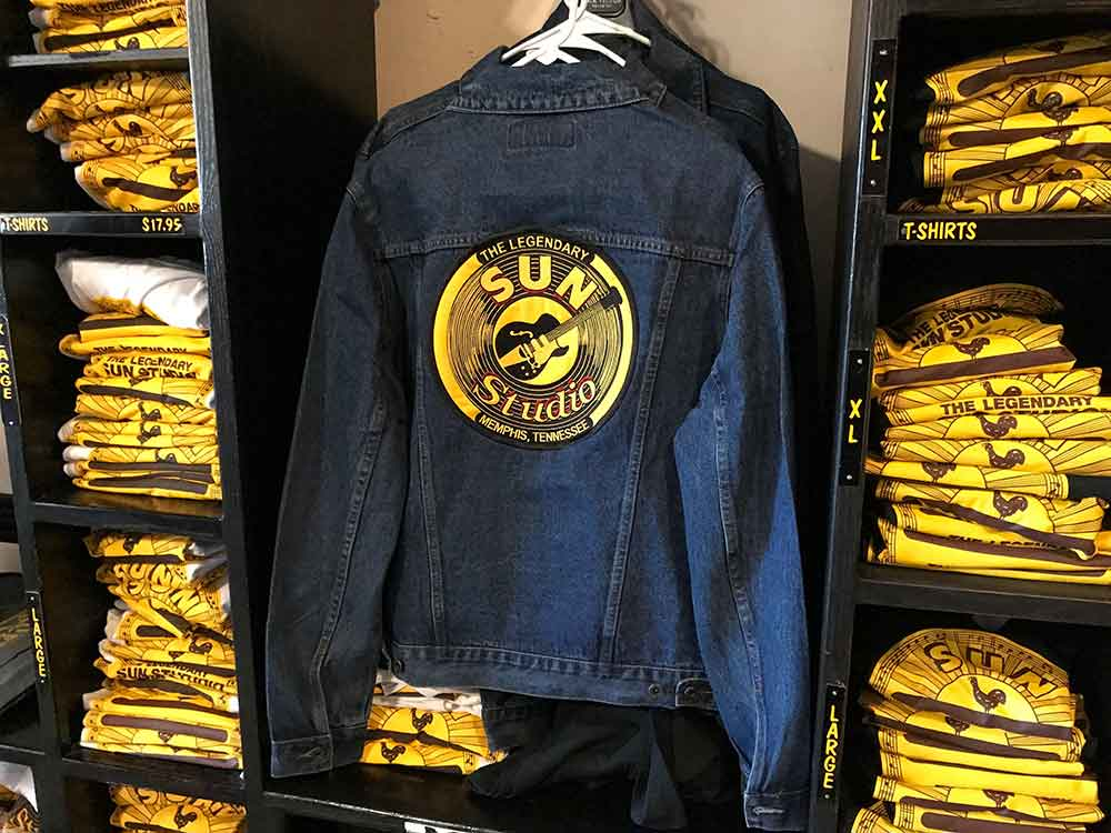 Sun Studio jackets and t-shirts