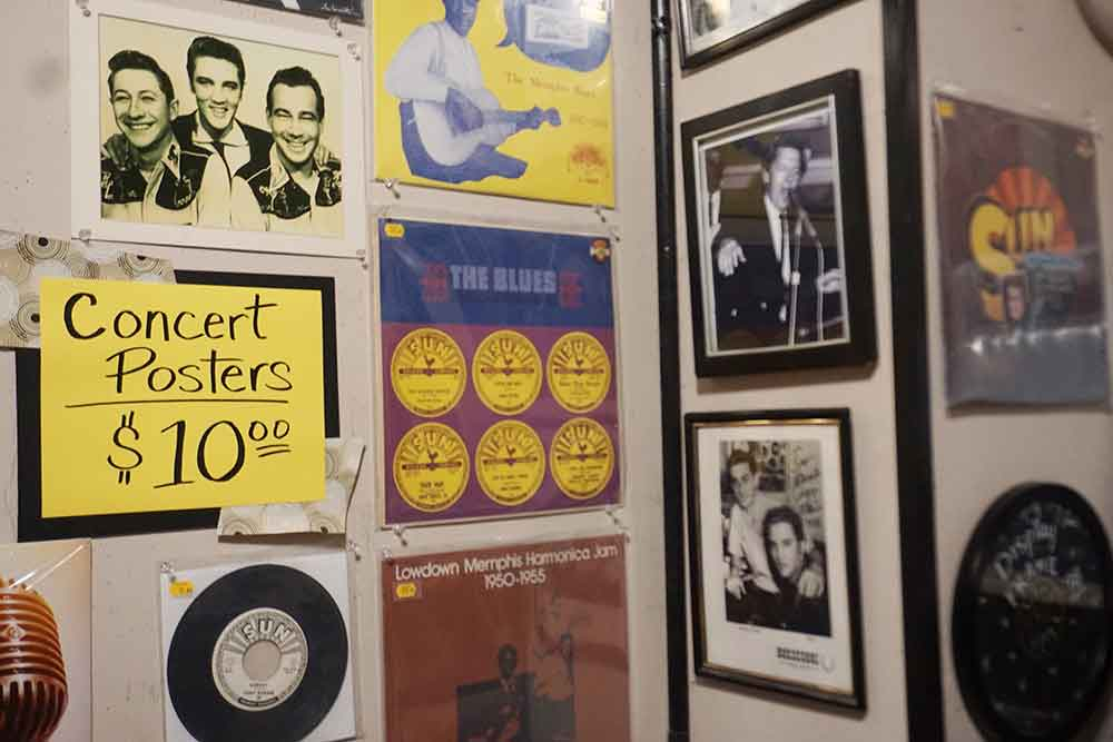Sun Studio posters and records